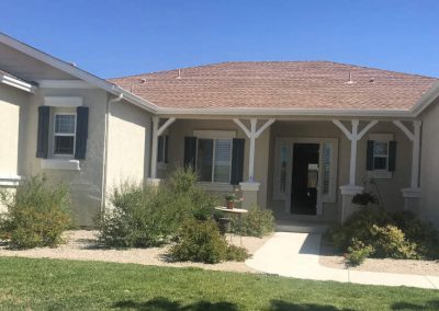 Residential exterior paint - stucco siding